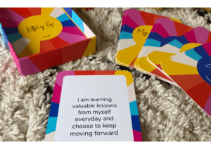 Image of The Positive Affirmation Cards - you can choose to pick one to help you build more positivitiy